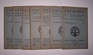 CATALOGUE - A lot of seven including Catalogues 107, 114, 115, 120, 122, 123, and 125