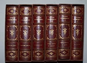 THE COMPACT EDITION of the Works of: Galsworthy, John ;