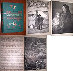 HARPER'S YOUNG PEOPLE An Illustrated Weekly 1885 [Full Year of issues from November 4, 1884 throu...