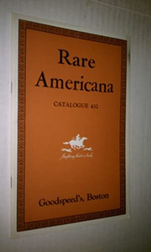 RARE AMERICANA - Catalogue 432
