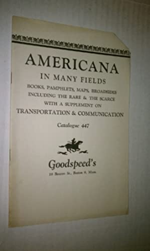 AMERICANA - Catalogue 447