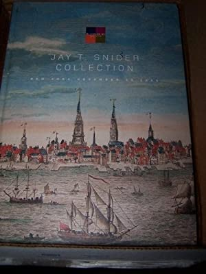 JAY T. SNIDER COLLECTION - New York, November 19, 2008; featuring the History of Philadelphia and...
