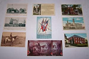 Robert E. Lee, Confederate Flags, and the South [Ten Vintage Post Cards]
