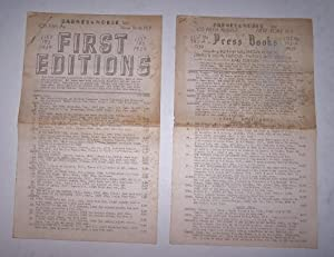 First Editions - List 193 and List 193A