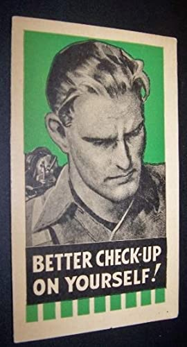 Better Check-Up on Yourself! [Small advertising brochure]