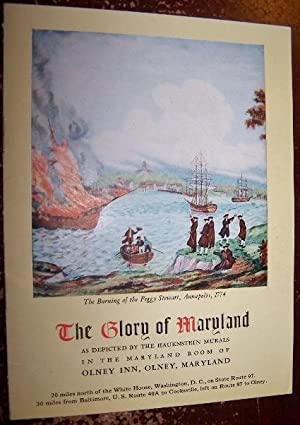 The Glory of Maryland as depicted by the Hauenstein Murals in the Maryland Room of Olney Inn, Oln...