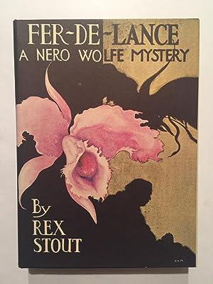 Fer-de-Lance (a Nero Wolfe mystery): Stout, Rex