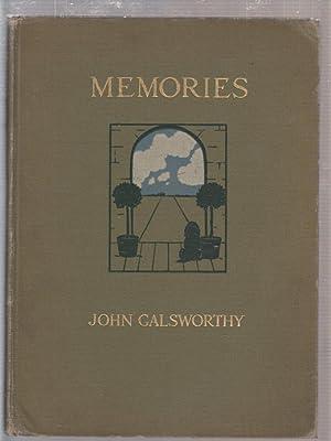 Memories: Galsworthy, John; Earl, Maud (illus)
