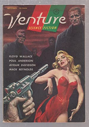 Venture Science Fiction-September 1957: Anderson, Poul; Wallace,