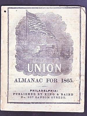 Union Almanac for 1865