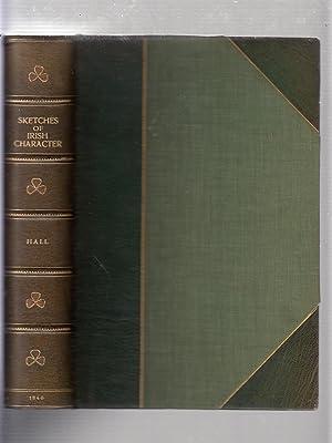 Sketches of Irish Character (in fine binding): Hall, Mrs. S.C.