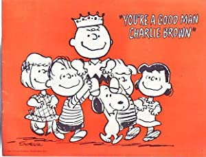 "You're A Good Man Charlie Brown (Original Souvenir Program with ""Playgoer"" booklet):..."