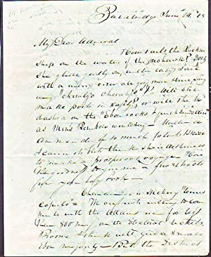 Handwritten letter dated June 24, (18)28 concerning Andrew Jackson's Presidential campaign in ...