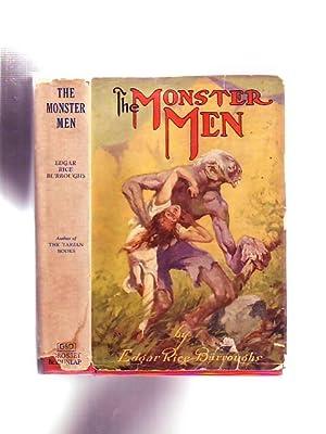 The Monster Men (in Scarce Original Dust Jacket): Burroughs, Edgar Rice