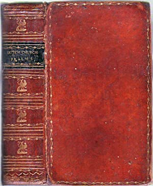 Early 19th Century American Decorative Binding) The Psalms of David, with Hymns and Spiritual Songs...