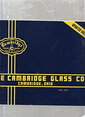 Cambridge Glass Catalogue 1930-1934