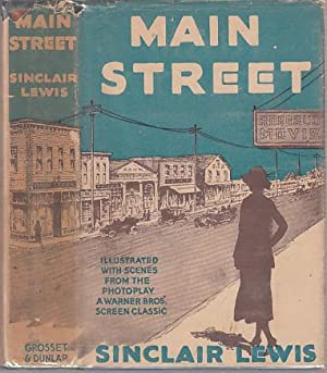 Main Street (Photoplay Edition in Dust Jacket): Lewis, Sinclair