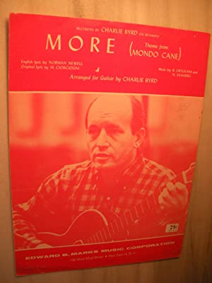 "More"" (Theme from Mondo Cane): Charlie Byrd (sheet"
