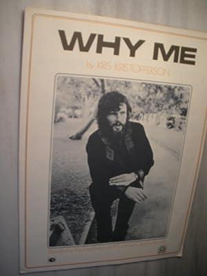 Why Me: Kris Kristofferson (sheet