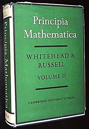 Principia Mathematica - VOLUME II: Whitehead, Alfred North