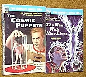 D-249: THE COSMIC PUPPETS / SARGASSO OF: Dick, Philip K.