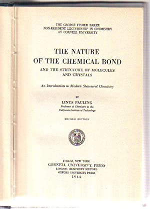the nature of the chemical bond pauling book pdf