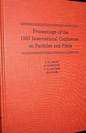 Proceedings of the 1967 International Conference on: Hagen, C. R./