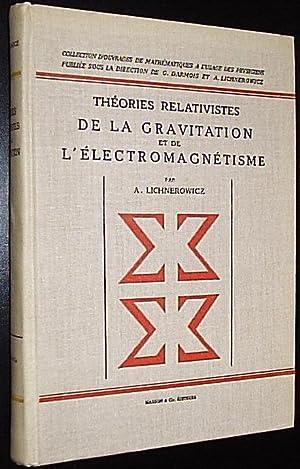Theories Relativistes De La Gravitation et De: Lichnerowicz, Andre/ Chandrasekhar,