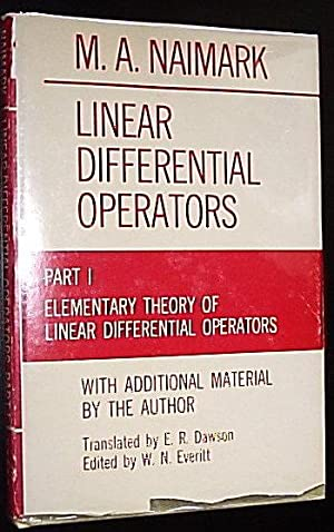 Linear Differential Operators - Part 1 -: Naimark, M. A.