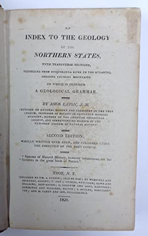 An index to the geology of the Northern States, with transverse sections, extending from ...