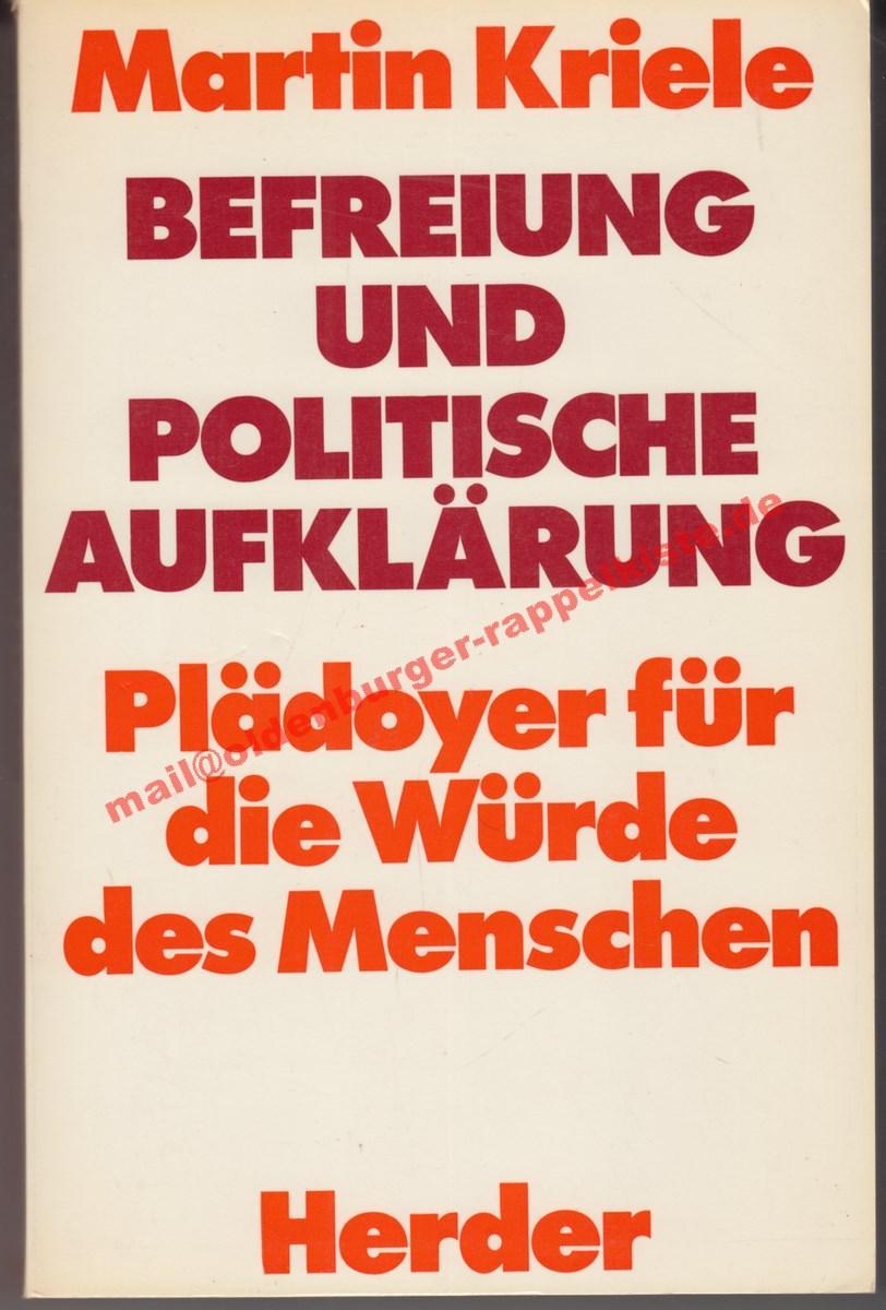 Befreiung und politische Aufklärung - Plädoyer für d. Würde d. Menschen