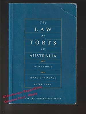The Law of Torts in Australia °: Trindade, Francis/ Cane,