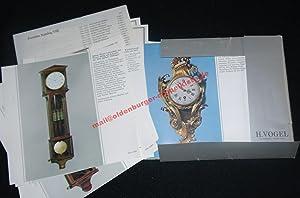 Katalog VIII - Chronometrie ; Antike Uhren ; Wissenschaftliche Instrumente ; Taschenuhren ; ...