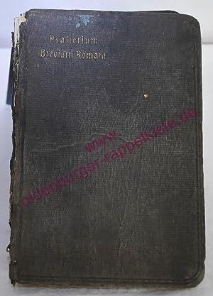 Psalterium Breviarii Romani cum ordinario divini officii