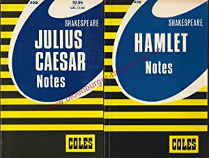 Shakespeare Julius Caesar & Hamlet : Coles: Teskey,John / Roberts,James