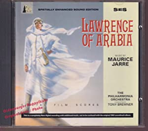 OST: Lawrence Of Arabia * VG+* Original Soundtrack * The Philharmonia Orchestra* - Jarre, Maurice...