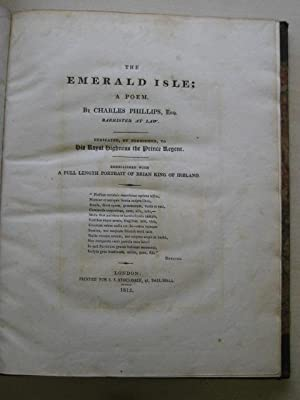THE EMERALD ISLE; A POEM: Phillips (Charles)