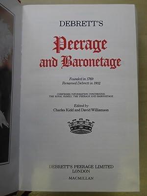 Debrett's Peerage 1995: Debrett