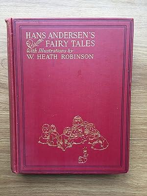 HANS ANDERSEN'S FAIRY TALES WITH ILLUSTRATIONS BY: Andersen (Hans)