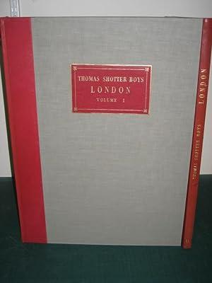 ORIGINAL VIEWS OF LONDON AS IT IS-: Boys (Thomas Shotter)