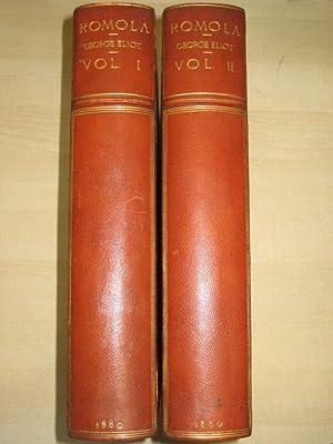 ROMOLA- TWO VOLUMES: Eliot (George)