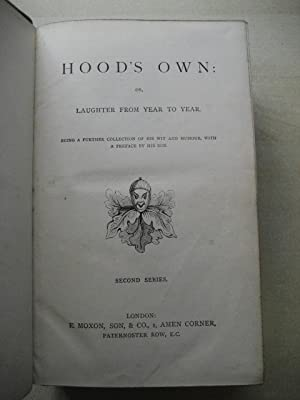 HOOD'S OWN: OR, Laughter from Year to Year - FIRST AND SECOND SERIES - Two Volumes: Hood (...
