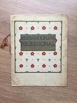 RECESSIONAL: Kipling (Rudyard)