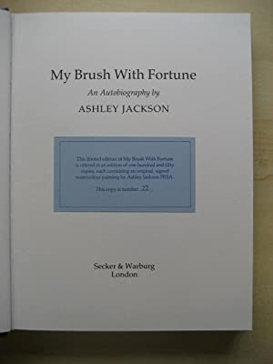 MY BRUSH WITH FORTUNE : AN AUTOBIOGRAPHY: Jackson (Ashley)
