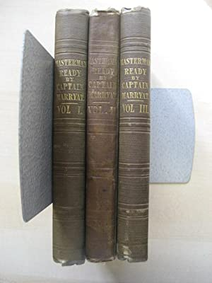 MASTERMAN READY : THREE VOLUMES: Marryat (Captain)