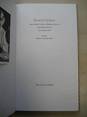 DEAREST NORTH Joan Hassall's letters to Sydney Cockerell from Italy & France, April - May ...