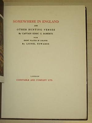 SOMEWHERE IN ENGLAND: Roberts (Captain Edric G)