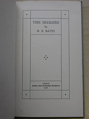 THE SEEKERS: Bates (H.E.)