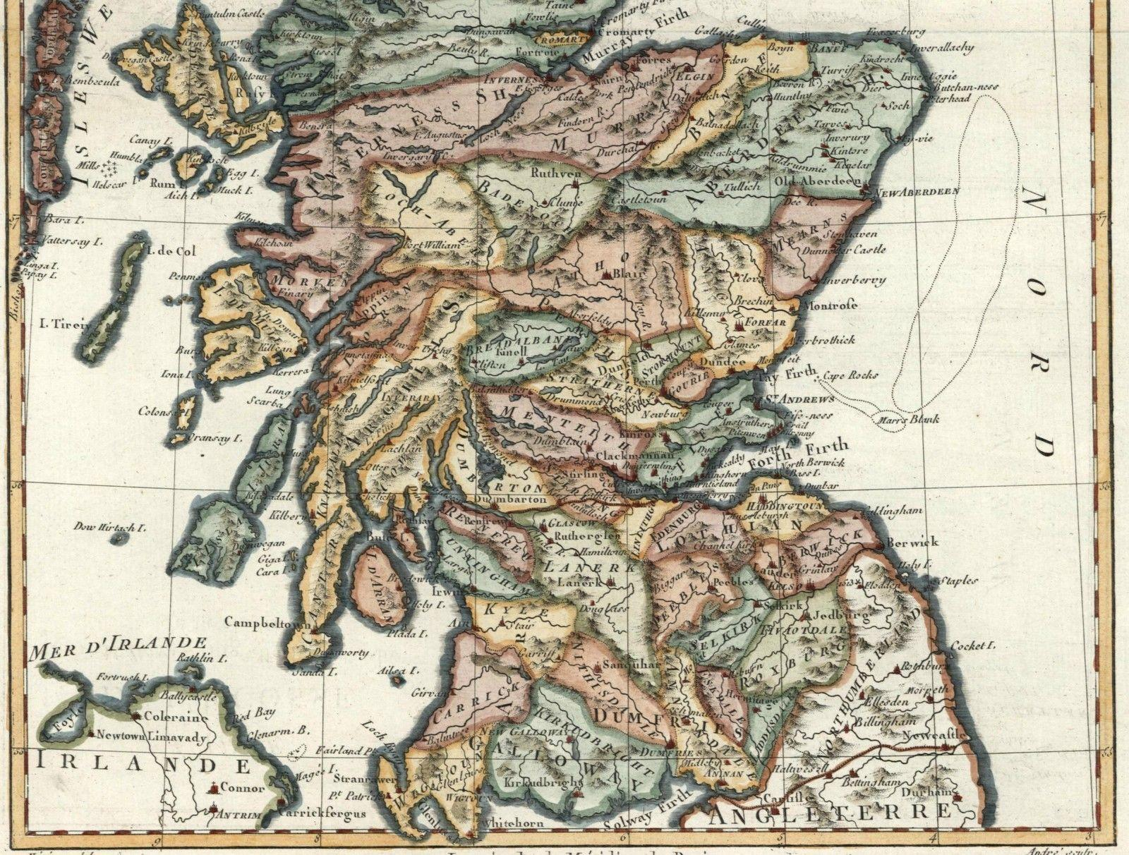 Scotland L'Ecosse British Isles Shetland