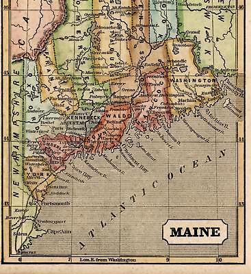 Maine counties towns Portland Kennebunkport